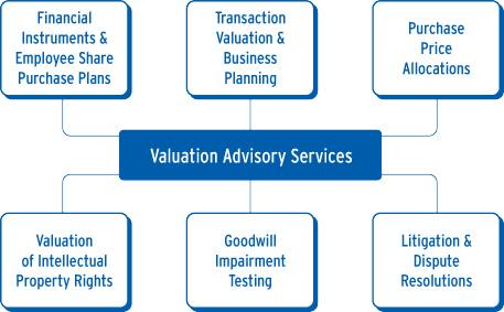 valuation advisory services