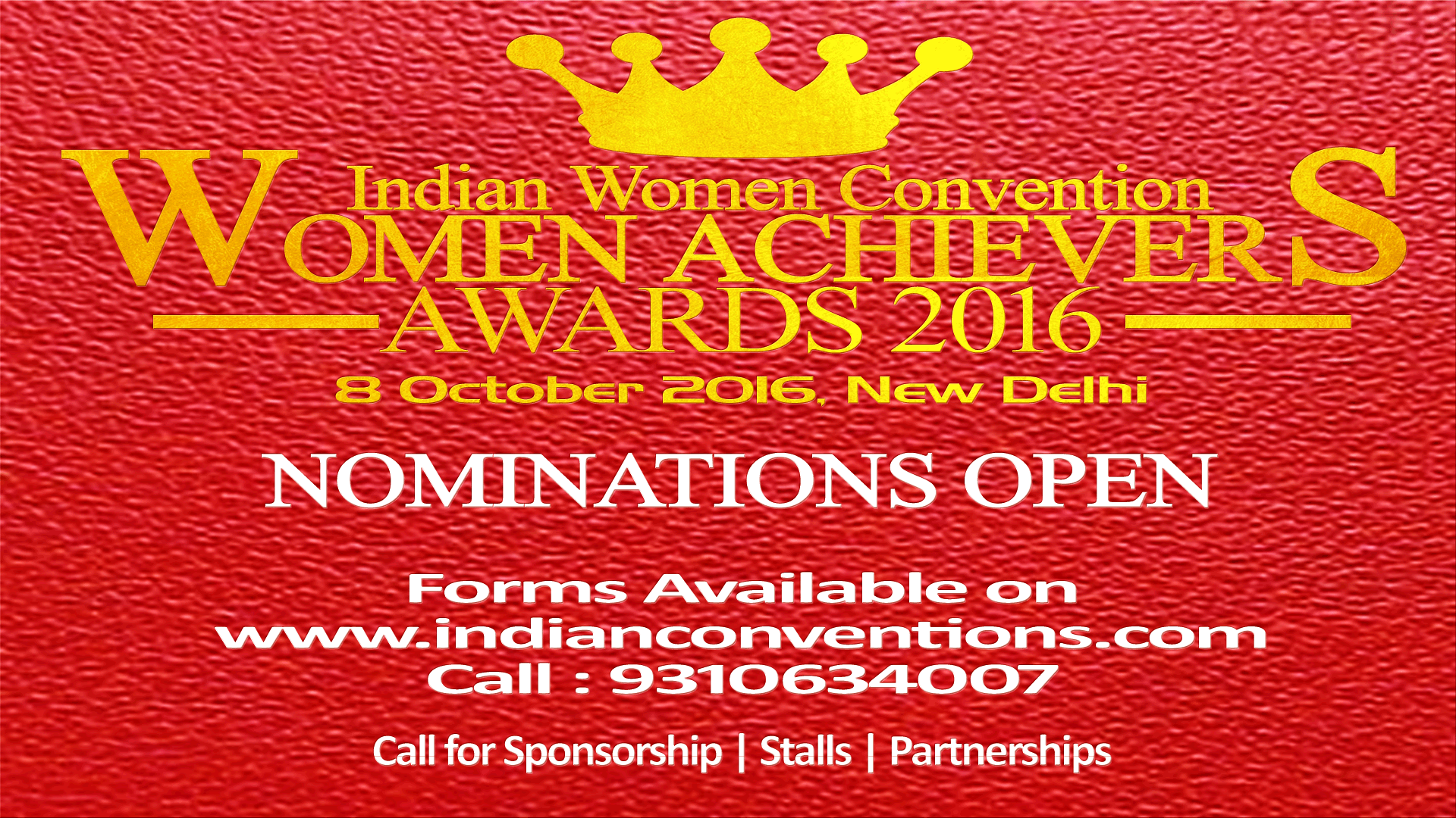 Indian Women Convention 2016