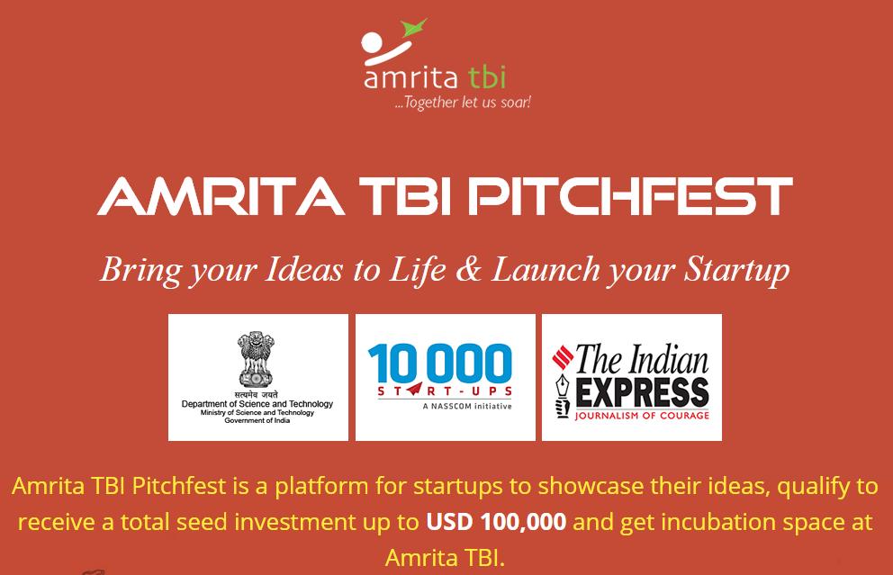 Amrita TBI Pitchfest