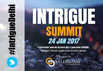 Intrigue Startup Summit
