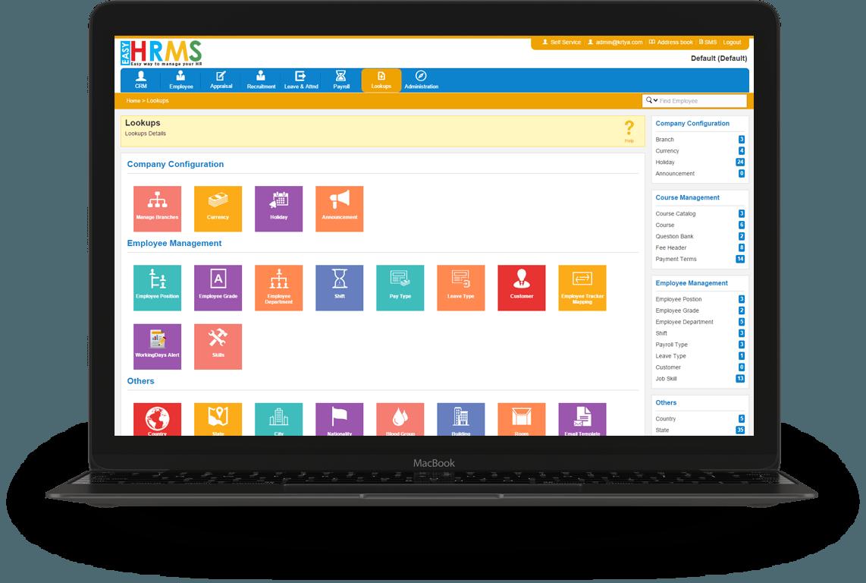 hrms website