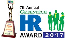 7th Annual Greentech HR Award 2017