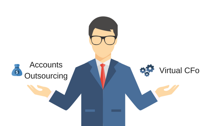 Top 5 Difference Between Accounts Outsourcing and CFO Services