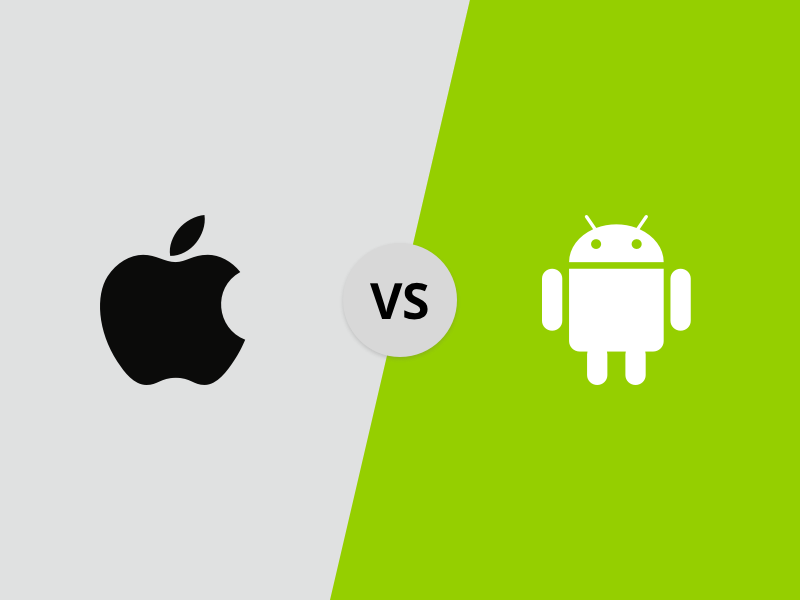 8 Key Differences - Android Vs iOS Mobile App Development