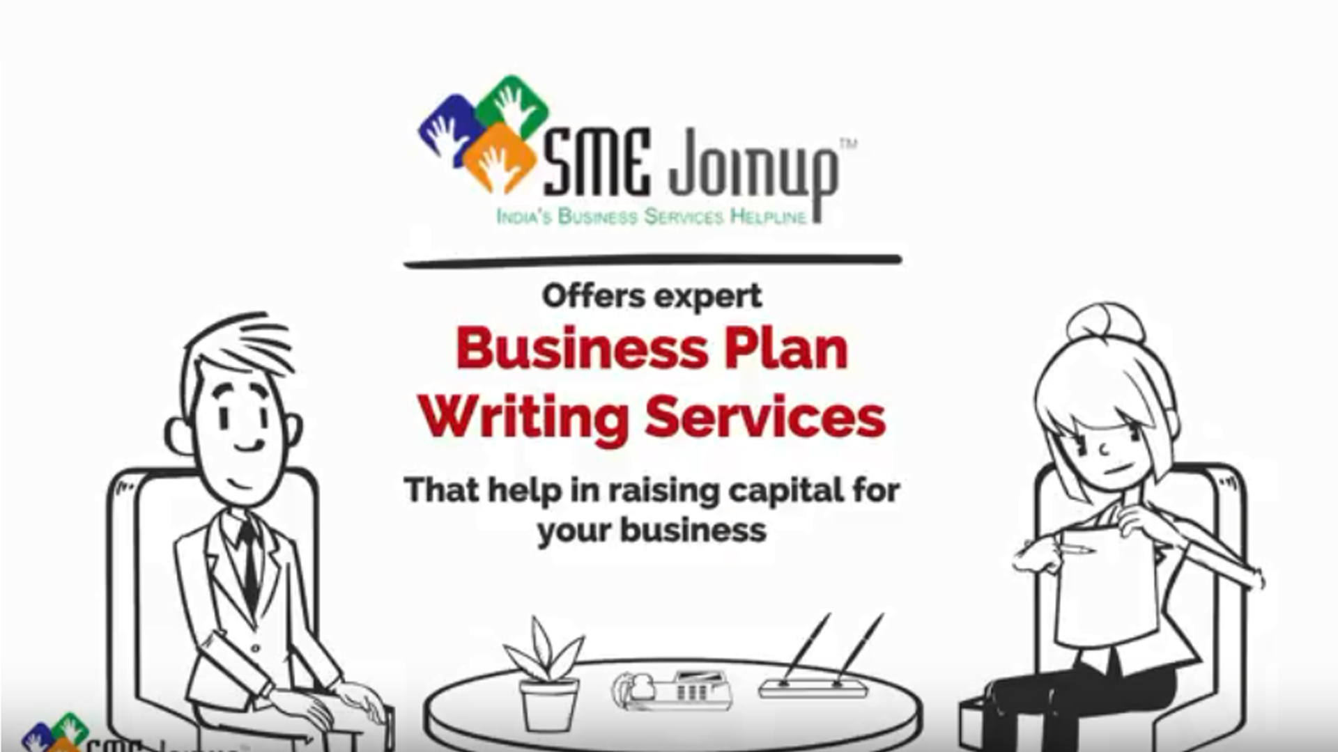 Business Plan Writing Whiteboard Video