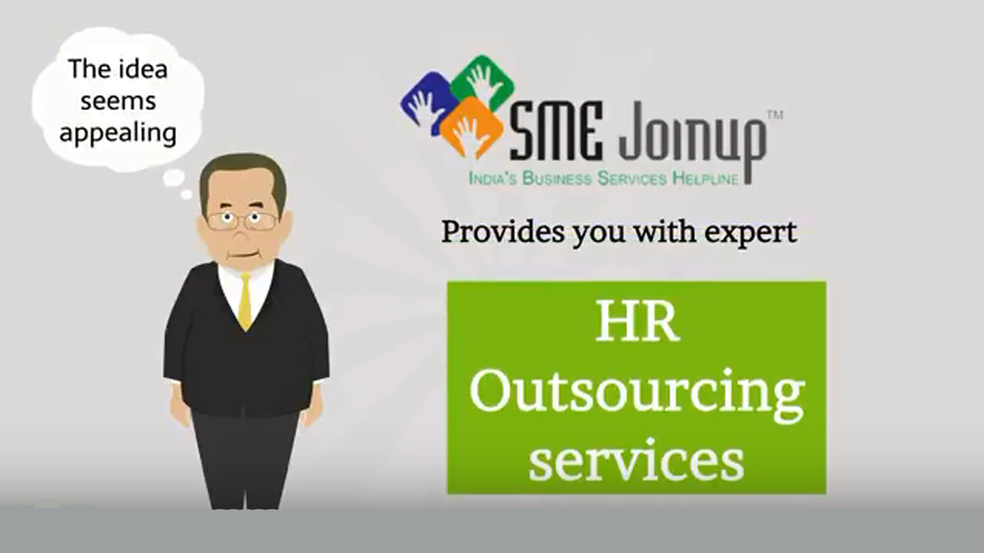 HR Outsourcing Animated Explainer Video