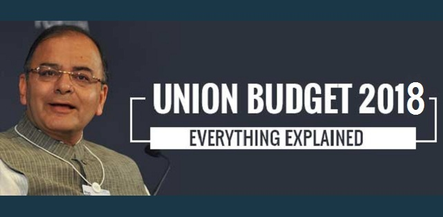 Key Highlights Of Union Budget 2018 - Arun Jaitley Addresses India