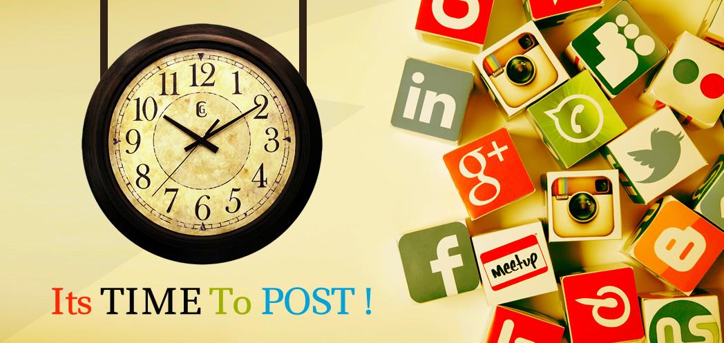 Best Time For Social Media Post - Twitter, Facebook, LinkedIn & Instagram