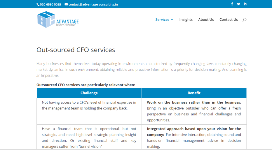 advantage business consulting