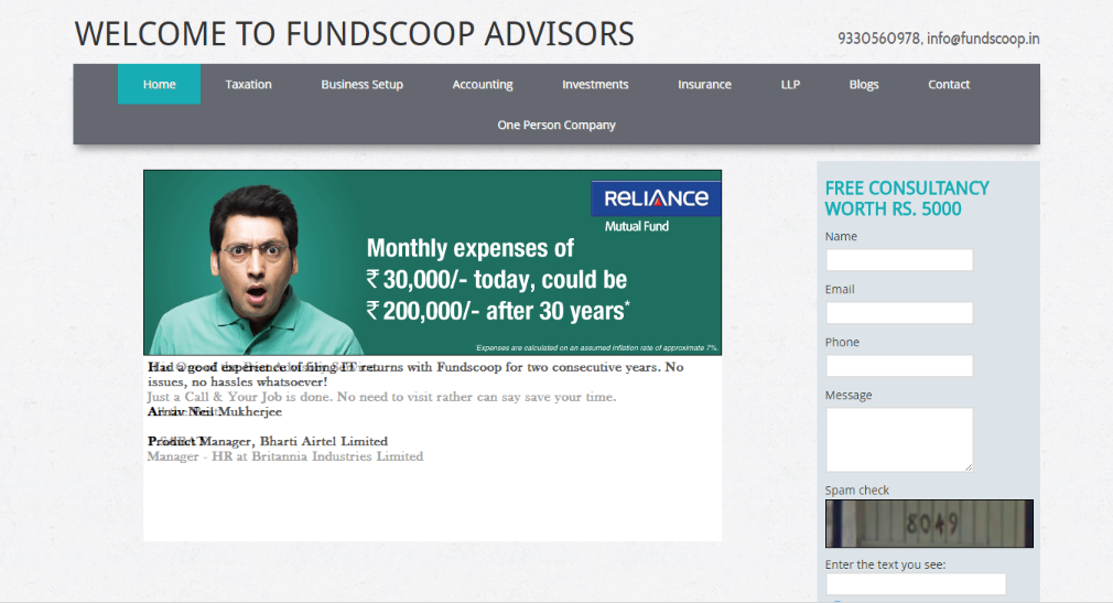 fundscoop advisors snapshot