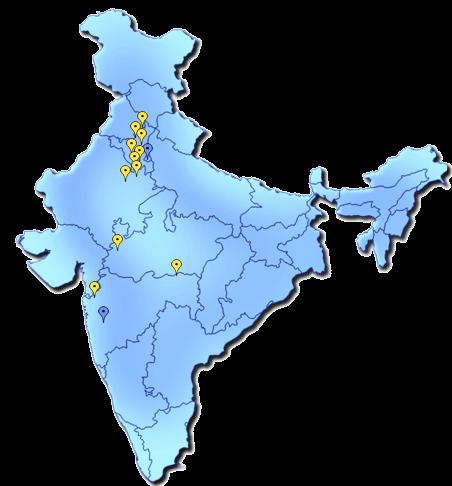 intero's india presence
