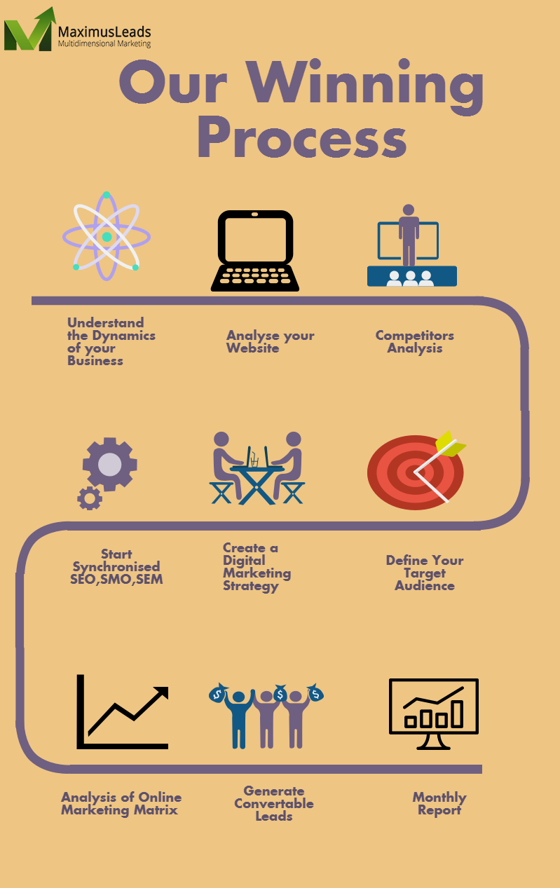maximus leads infographic