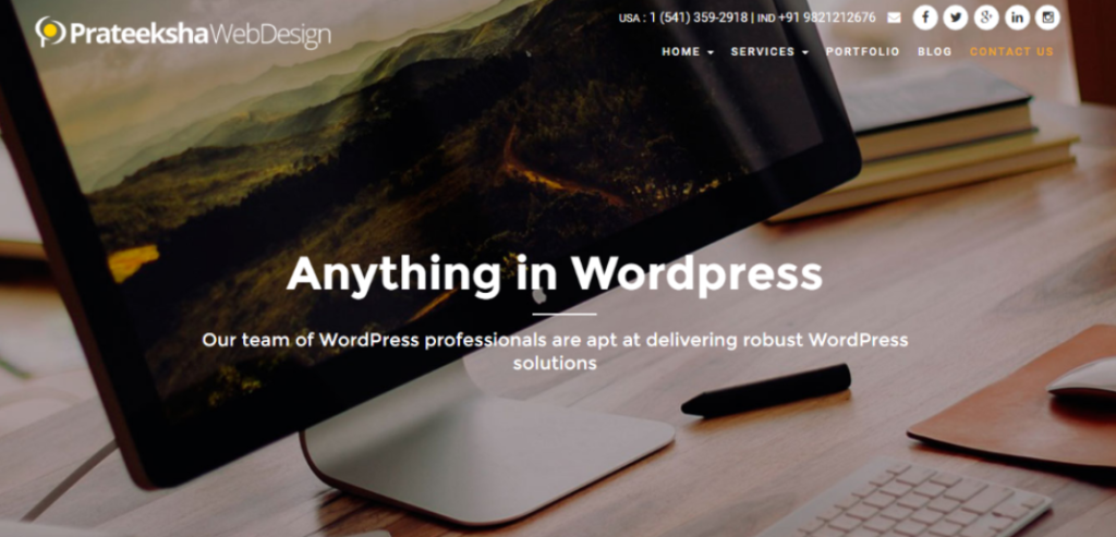 prateeksha wordpress