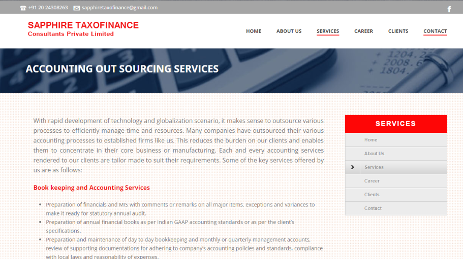 sapphire taxofinance accounting services