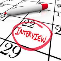 schedule interview