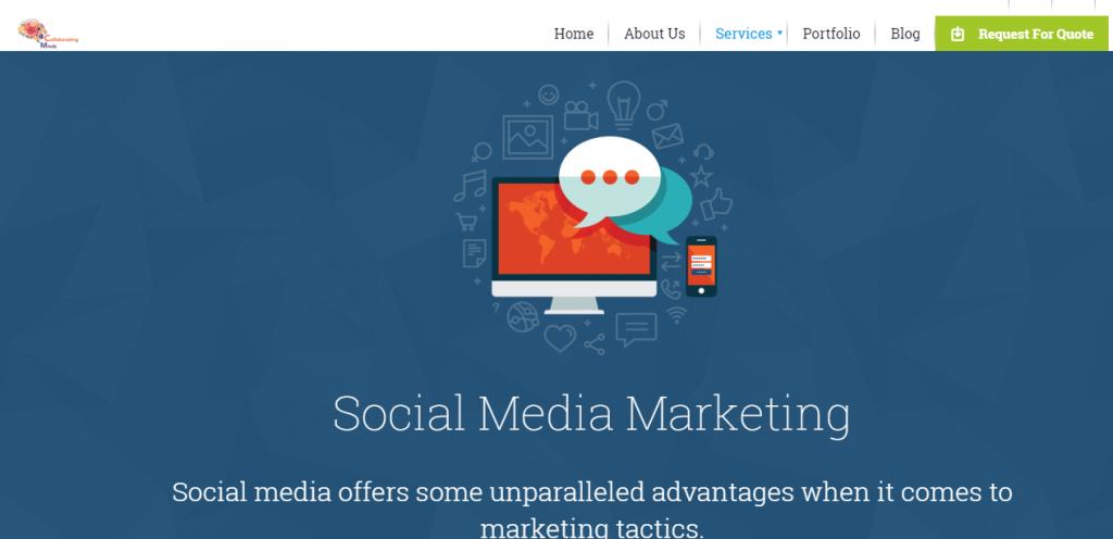 social media marketing colloborating minds